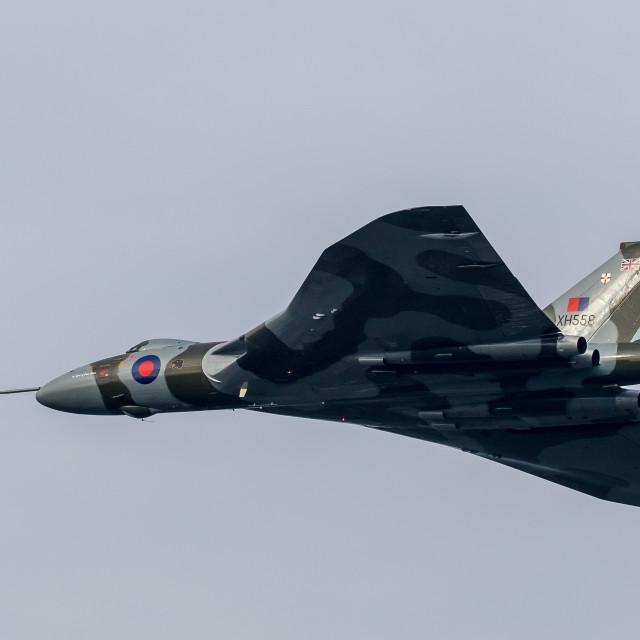 """Vulcan XH558"" stock image"
