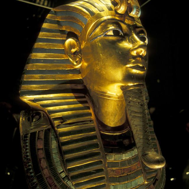 """AFRICA EGYPT CAIRO EGYPTIAN MUSEUM"" stock image"