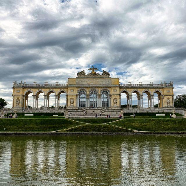 """The Gloriette, Schonbrunn Palace, Vienna"" stock image"
