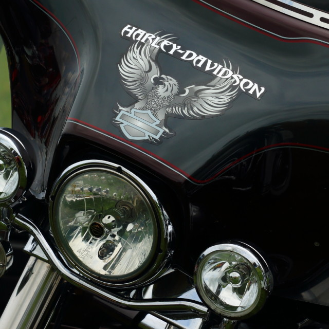"""Harley Davison"" stock image"