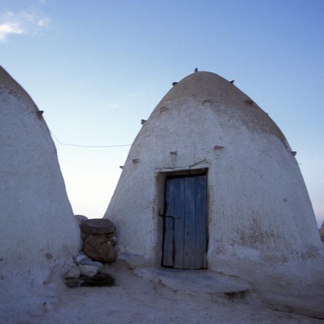 """MIDDLE EAST SYRIA HAMA SAROUJ HOUSE"" stock image"