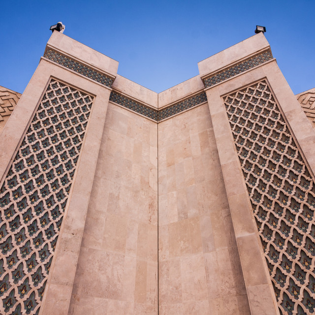 """hassan 2 mosque"" stock image"