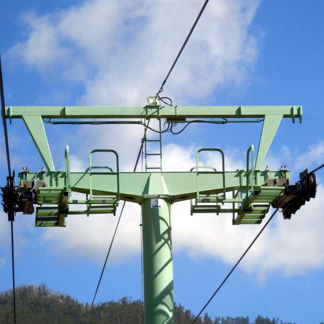 """""""Cablecar Tower"""" stock image"""