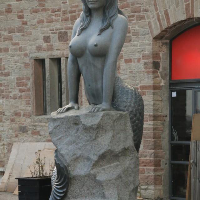 """Little Mermaid's Big Sister?"" stock image"