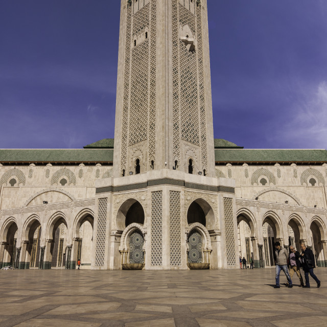 """""""hassan 2 mosque"""" stock image"""