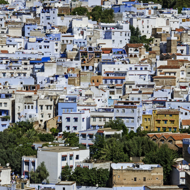 """CHEFCHAOUEN"" stock image"
