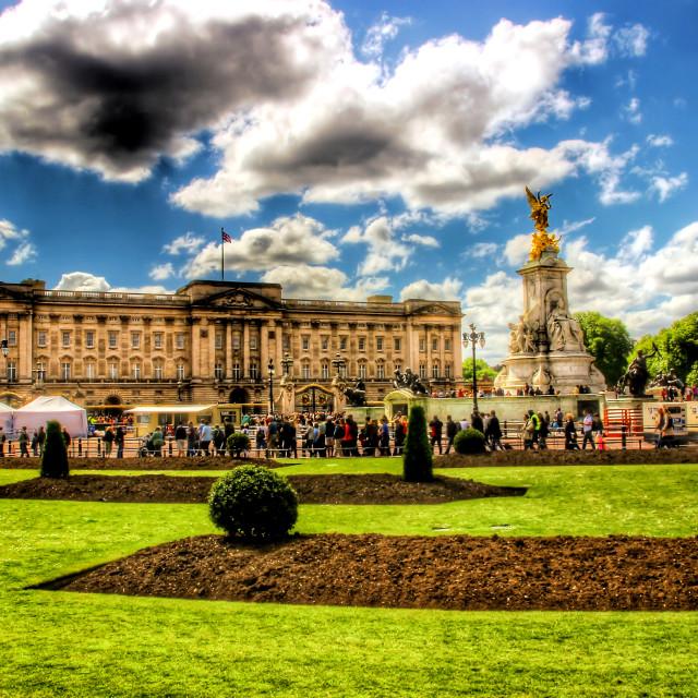 """""""Buckingham Palace - London"""" stock image"""