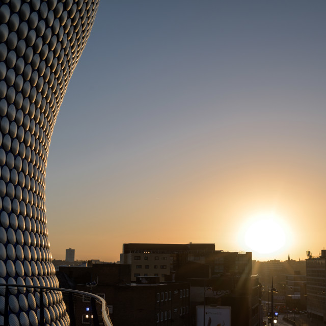 """""""Birmingham Selfridges At Sunrise,UK."""" stock image"""