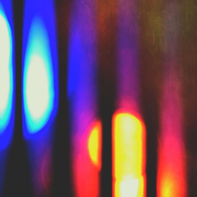 """""""Abstract Christmas Tree lights"""" stock image"""