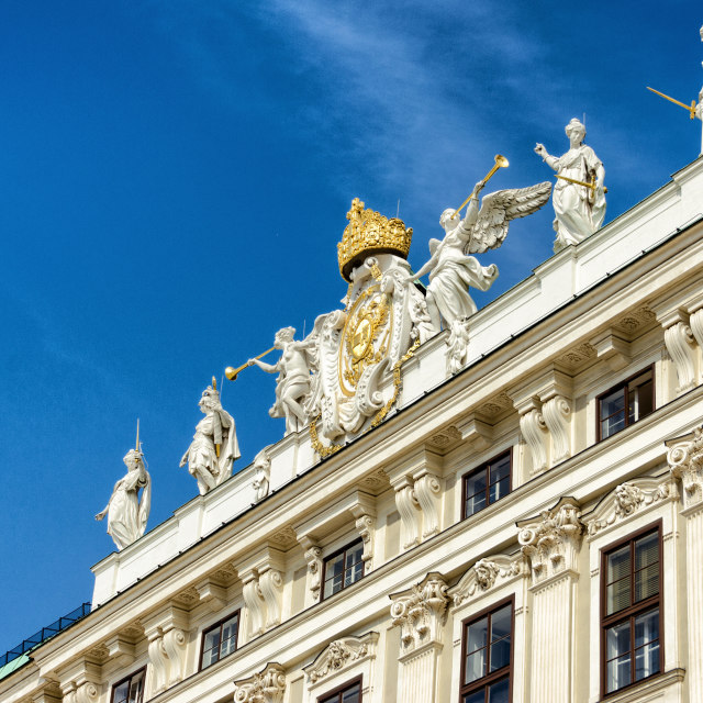 """Spanish Riding School, Vienna"" stock image"