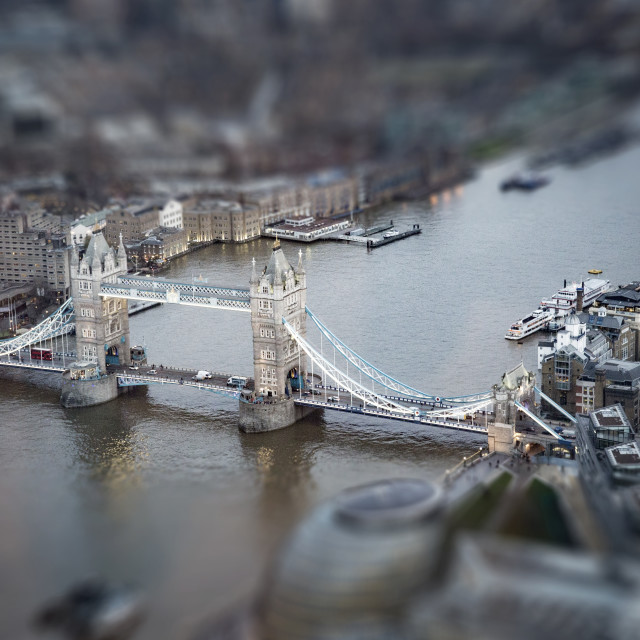 """Tower Bridge London"" stock image"
