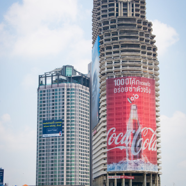 """Sathorn Unique Tower"" stock image"
