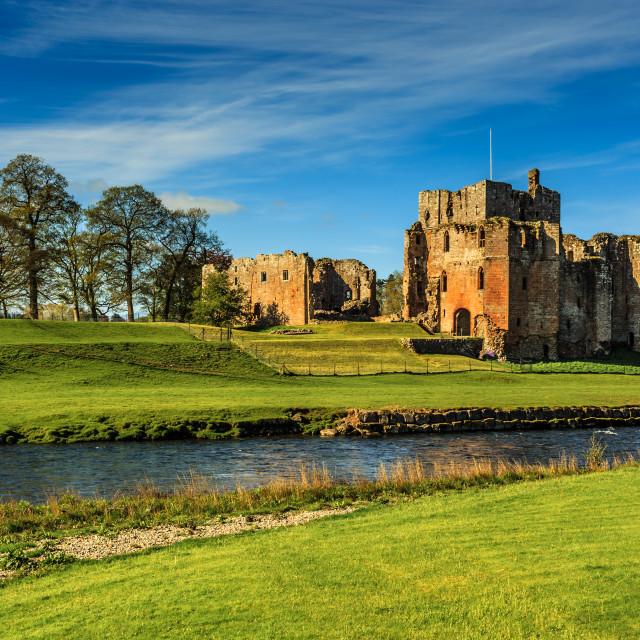 """Brougham Castle"" stock image"