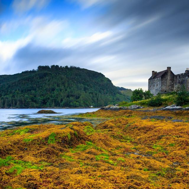 """""""Eilean Donan Castle - Highlands - Dornie - Scotand"""" stock image"""