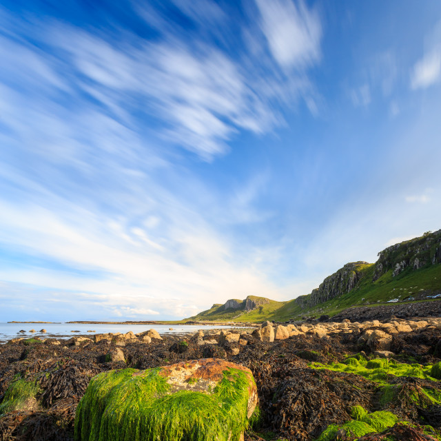 """Staffin Bay - Isle of Skye - Scottish Highlands - Lee Big Stopper"" stock image"