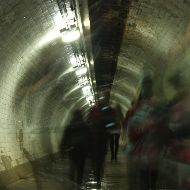 """Greenwich Foot Tunnel"" stock image"