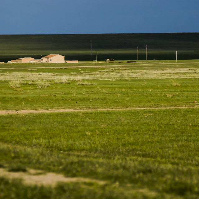 """Grasslands in Inner Mongolia"" stock image"