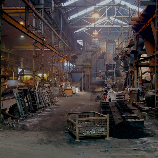 """The foundry"" stock image"