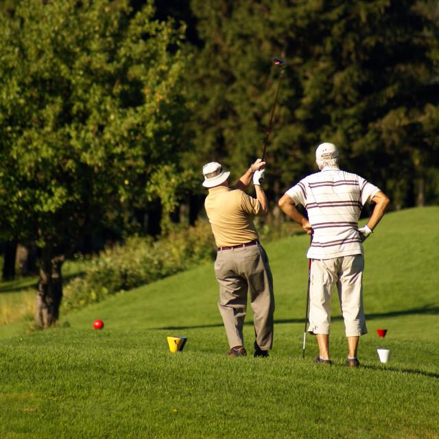 """Golf"" stock image"