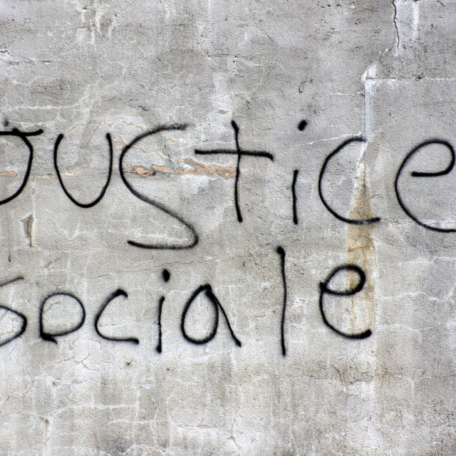 """""""Justice"""" stock image"""