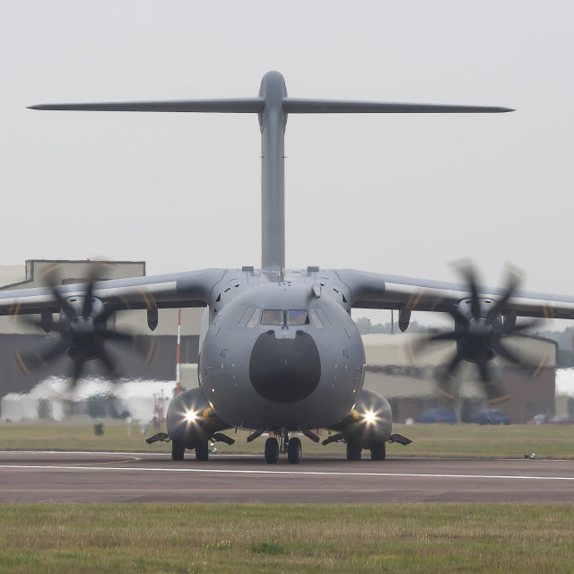 """Airbus A400M"" stock image"