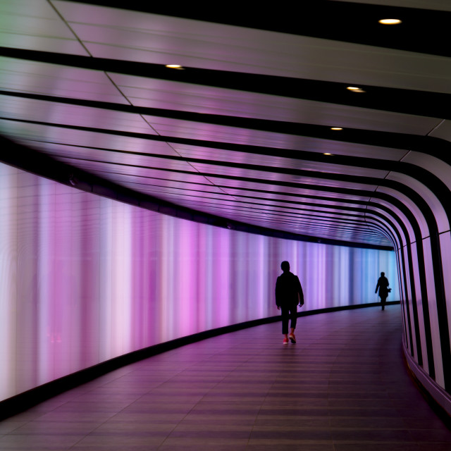 """Colour Tunnel"" stock image"