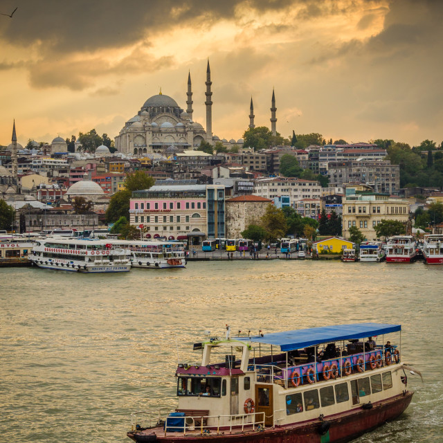 """""""Istanbul Ferry"""" stock image"""