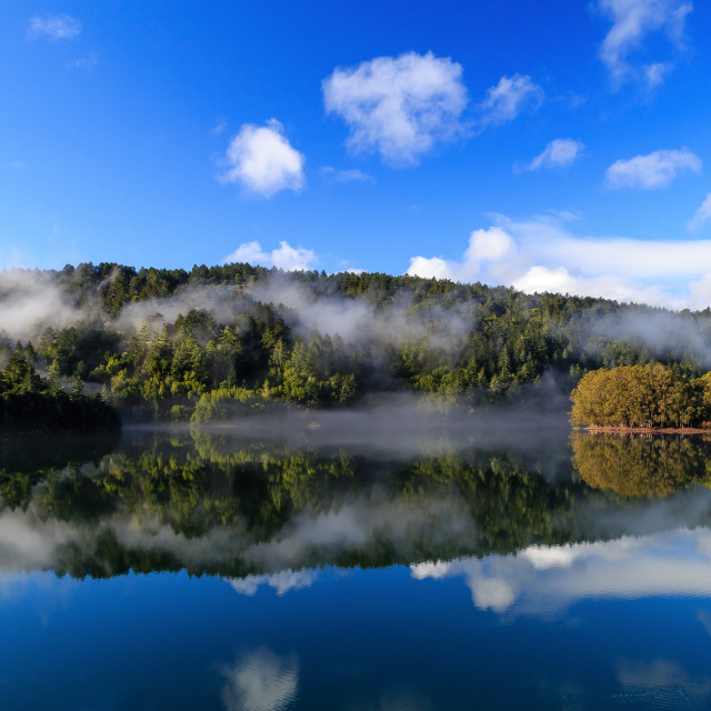 """Crystal Springs Reservoir"" stock image"