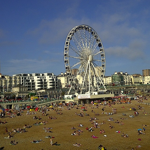 """Brighton summer"" stock image"