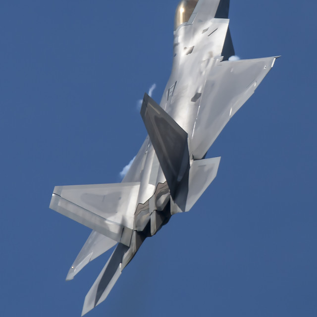 """F-22 Rapter"" stock image"