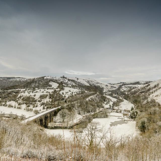 """""""Railway Snow"""" stock image"""
