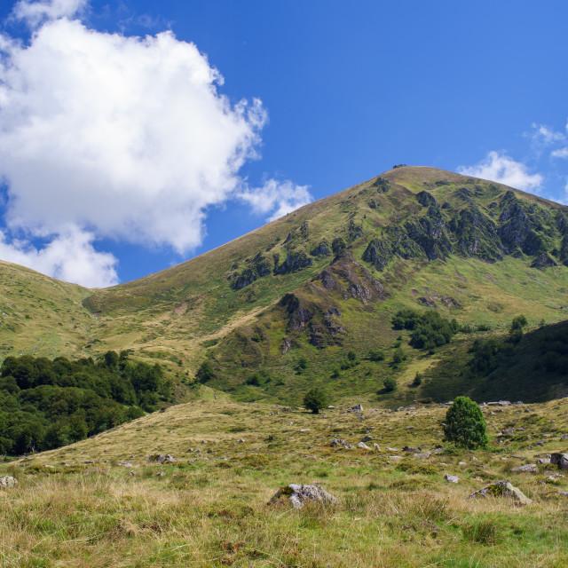 """Landscape from the Pyrénées"" stock image"