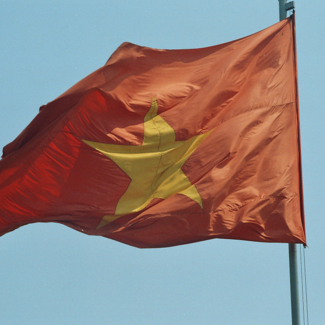 """Vietnam Flag"" stock image"