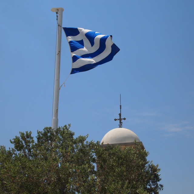 """Flag of Greece"" stock image"