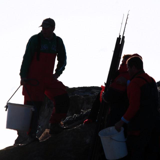 """Sea Fishing"" stock image"