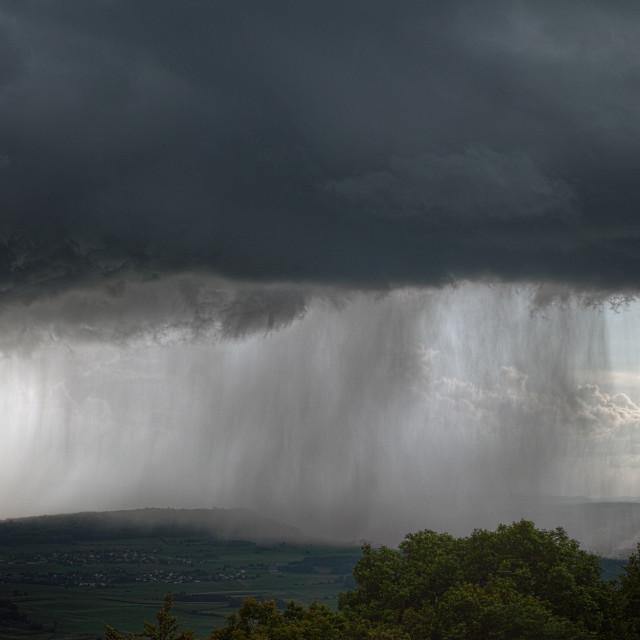 """Heavy downpour"" stock image"