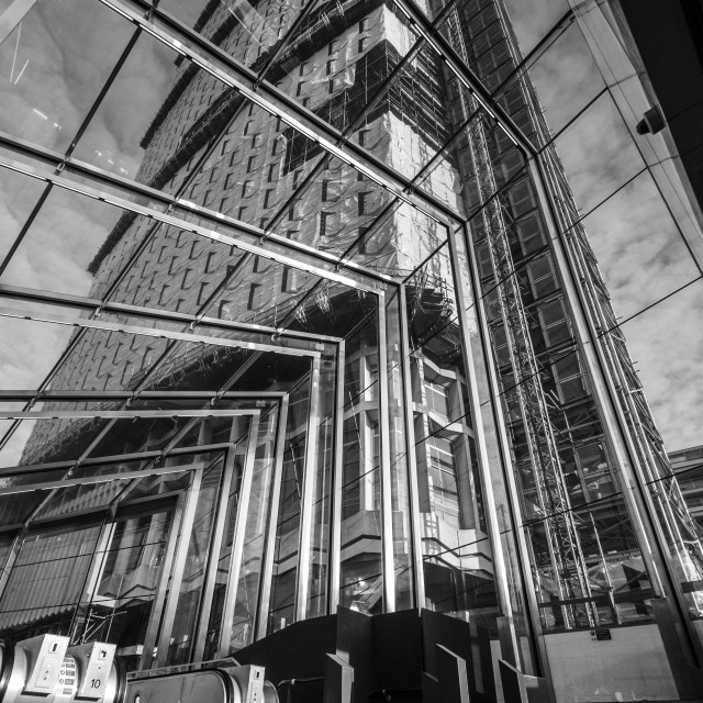 """Centre Point, Tottenham Court Road Station"" stock image"