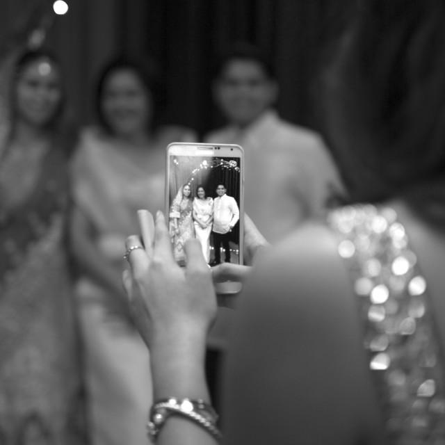 """""""WEDDING SNAPSHOTS"""" stock image"""
