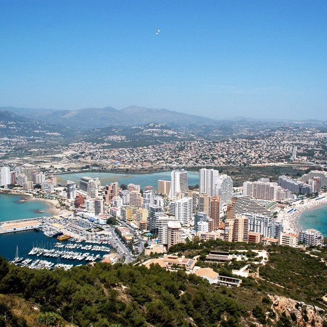 """""""Calpe overview"""" stock image"""