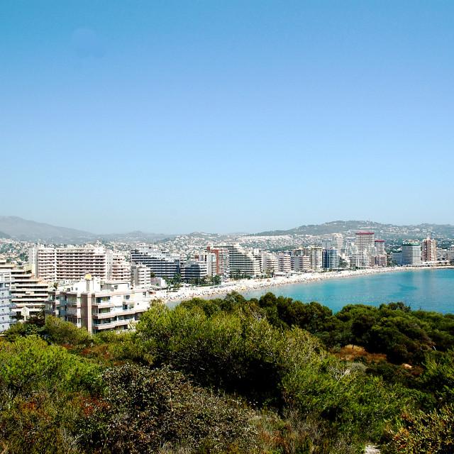 """""""Eastern-coast-Spain"""" stock image"""