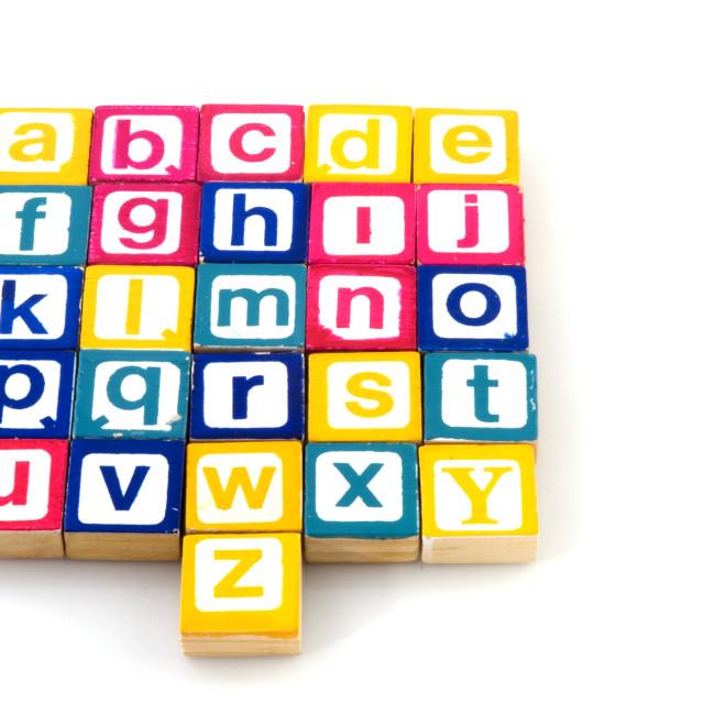 """""""Alphabet"""" stock image"""