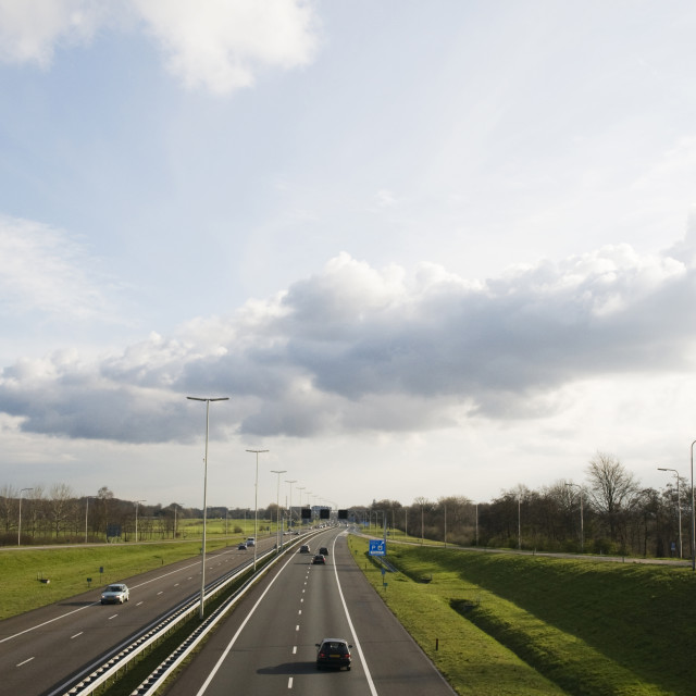 """""""Highway in Holland"""" stock image"""