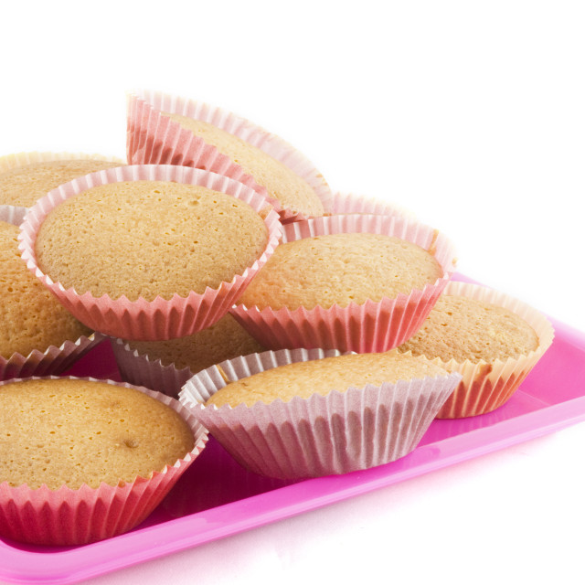 """""""home-made small cakes"""" stock image"""