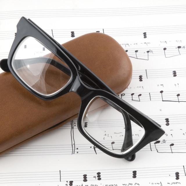 """composing music"" stock image"