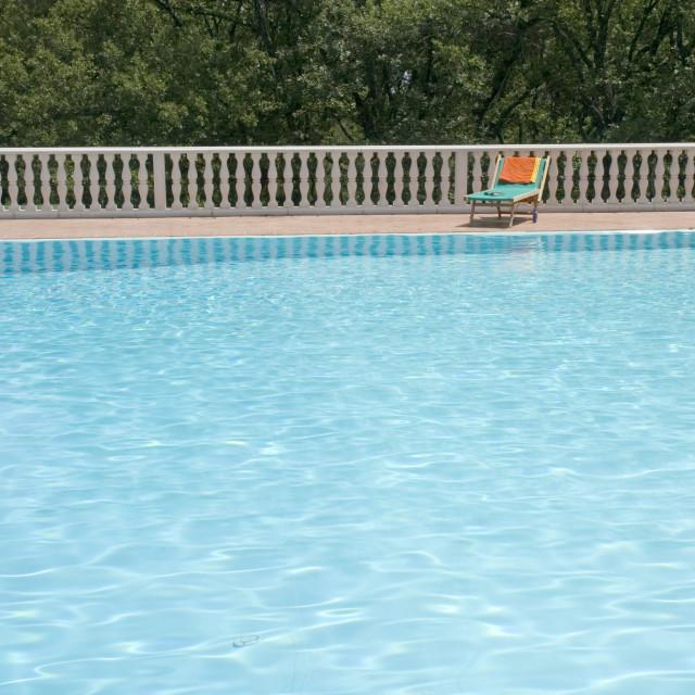 """""""Luxury swimmingpool"""" stock image"""