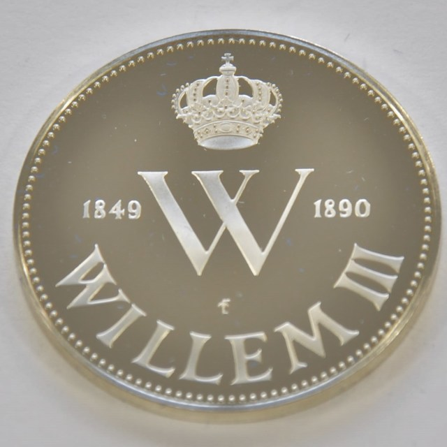 """Willem III Medal"" stock image"
