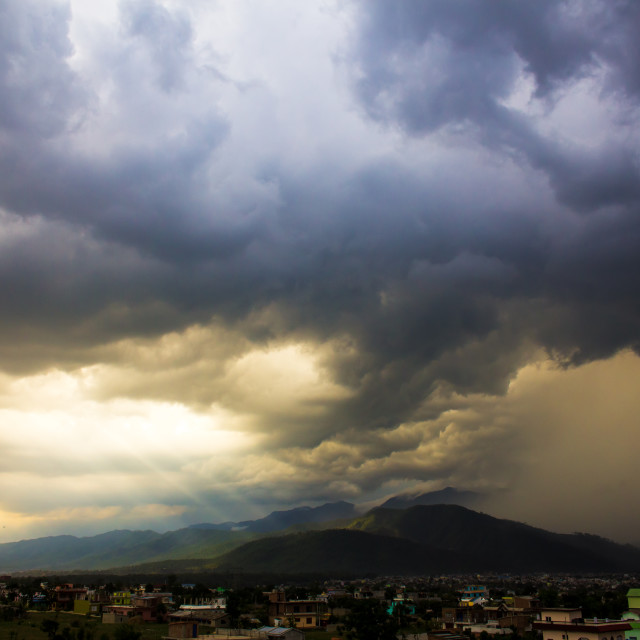 """Monsoon Bliss"" stock image"