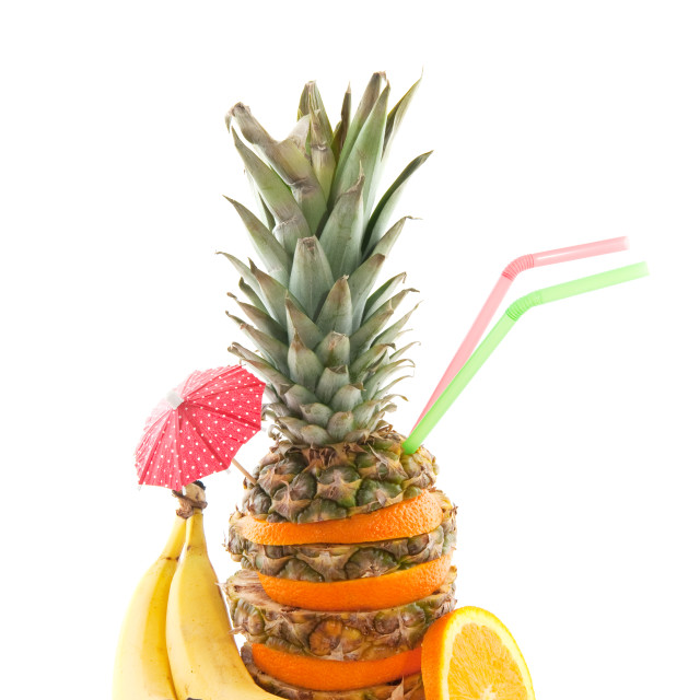 """tropical fruit"" stock image"