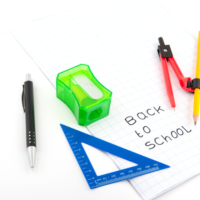 """Back to school"" stock image"