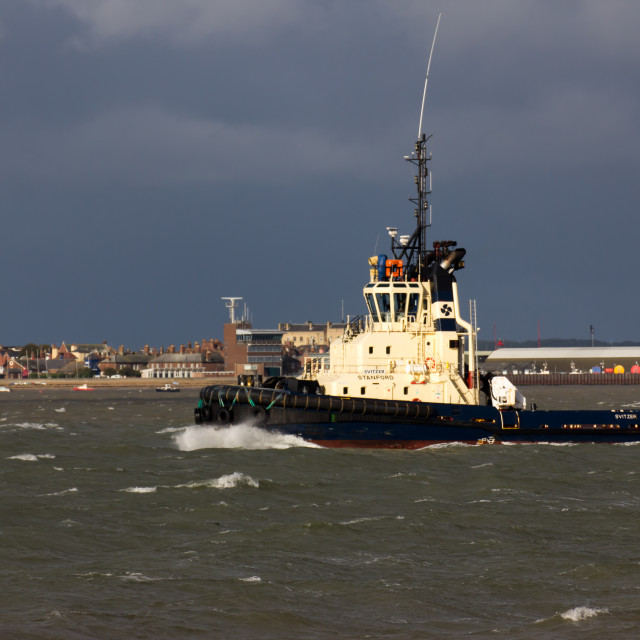 """Tug, Felixstowe, Suffolk"" stock image"